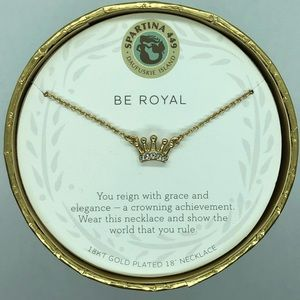 "SLV ""Be Royal"" Crown Necklace"